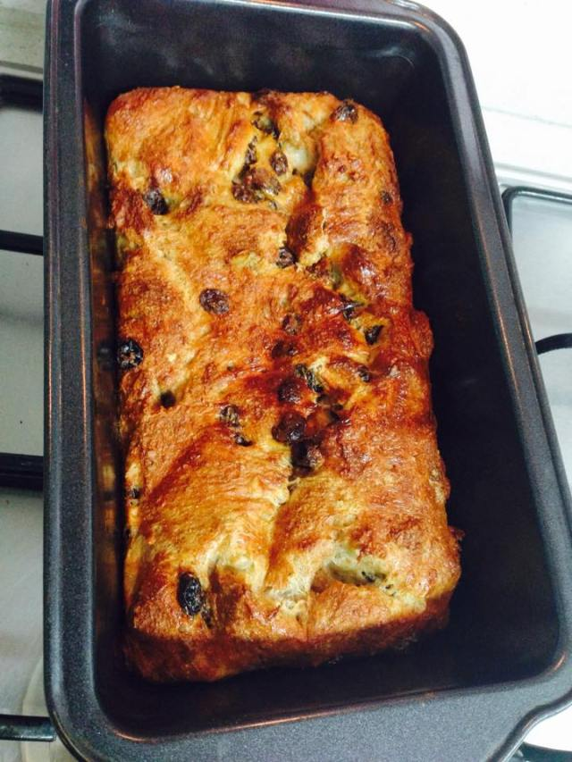 High Protein Healthy Bread Pudding Low Fat The Golden
