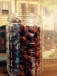 Sweet, sticky, date goodness! No June bugs here, I promise!