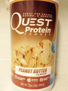 Peanut butter flavour without peanut butter fat!