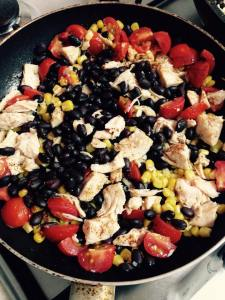 Simple Southwestern Chicken Skillet1