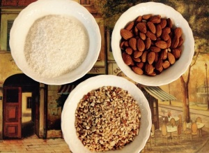 Coconut & almonds join the Paleo party, too!