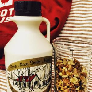 Canada Maple Syrup and Walnuts
