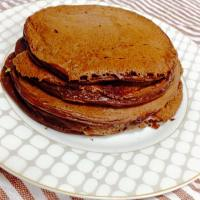 Chocolate Peanut Butter Protein Pancakes (Gluten-free, Grain-free, Refined sugar-free)