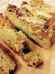 Coconut Oatmeal Banana Bread Slices