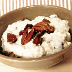 Date Pecan Pie Overnight Oatmeal