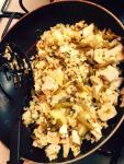 Easy Weeknight Chicken Fried Rice Wok