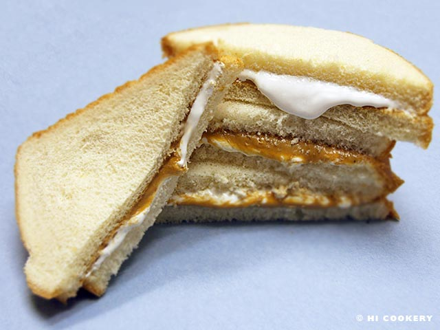 The classic Fluffer-nutter sandwich.  Photo source: Hi Cookery (copyrighted)