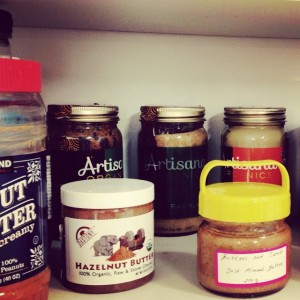 ALL the nut butters!