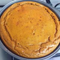 (High-Protein) Power Pumpkin Pie (Gluten-free, Refined sugar-free)