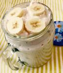 Banana Cream Pie Overnight Oatmeal