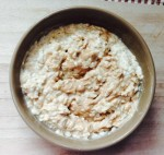 Cinnamon Roll Overnight Oatmeal