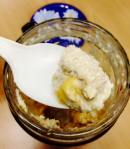 Mango Coconut Overnight Oatmeal Spoonful