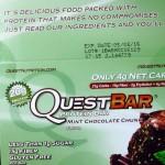Quest Bar Mint Chocolate Chunk