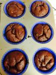 Double Chocolate Cheesecake Protein Muffins